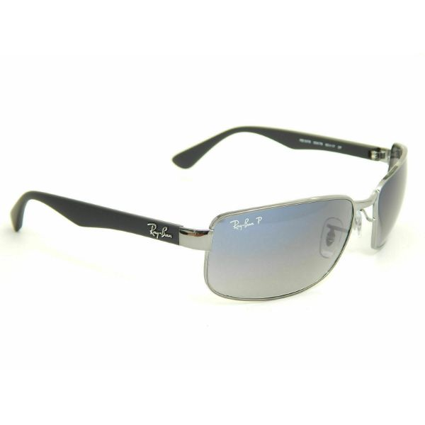 f2645237e53 Daily Steals-Ray-Ban RB3478 004/78 Gunmetal / Blue Gradient Polarized 60mm