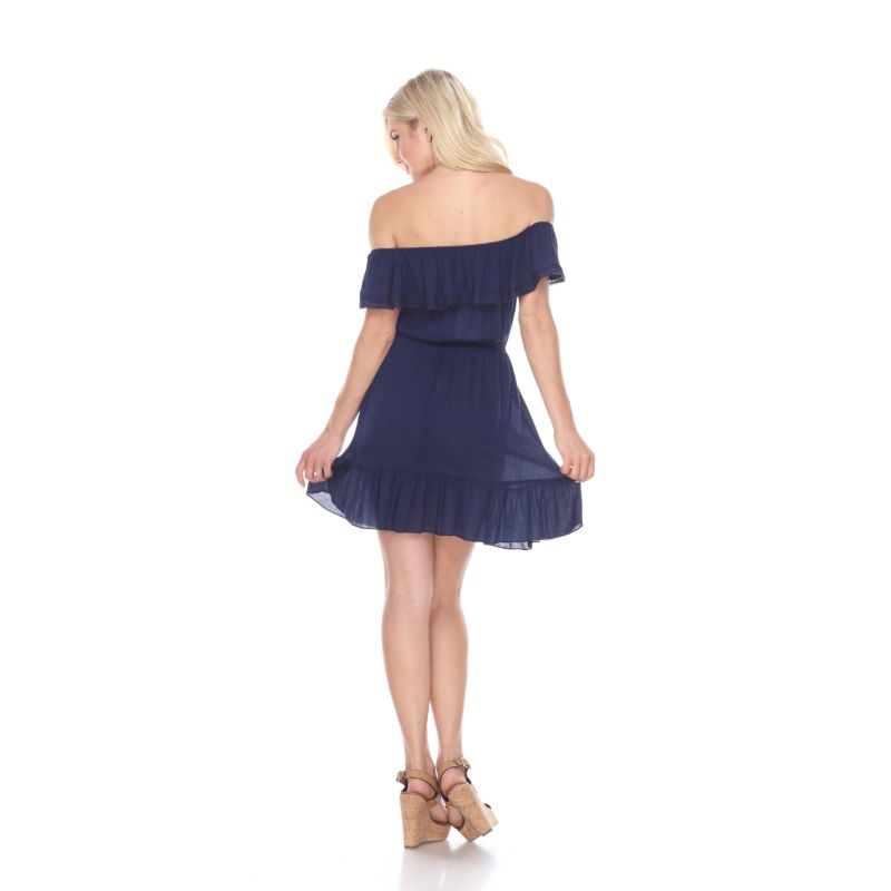 Smocked Off-The-Shoulder Dress-Daily Steals