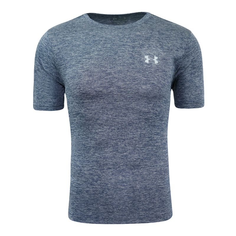 Under Armour Homme UA Space Dye T-Shirt-Navy-S-Daily Steals