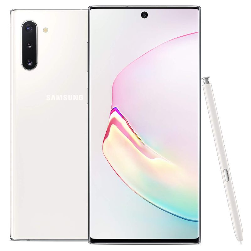 Samsung Galaxy Note 10 Factory Unlocked Cell Phone with 256GB-Aura White-Daily Steals