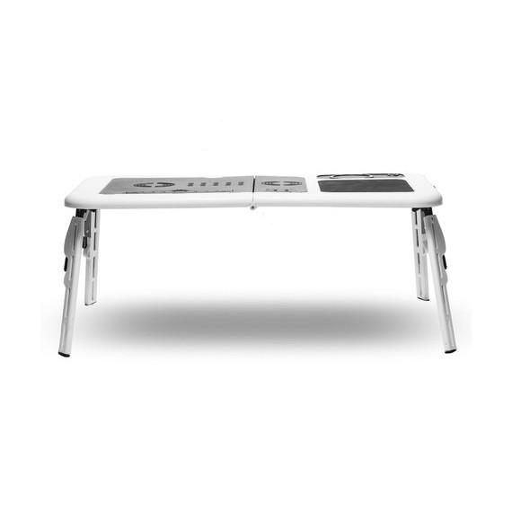 Portable Folding Laptop Table with Dual Cooling Fans-Daily Steals