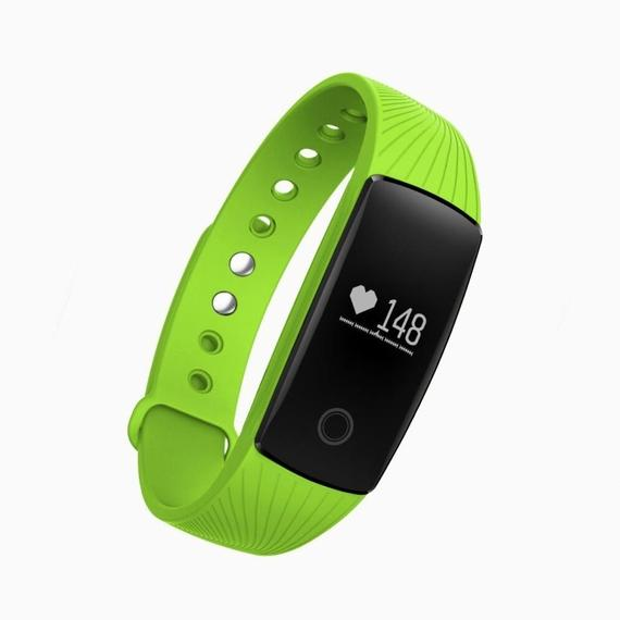 Bluetooth Smart Band Fitness Tracker med pulsmätare - Green-Daily Steals