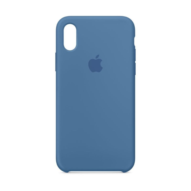 Apple Silicone Case for iPhone X/Xs-Midnight Blue-Daily Steals