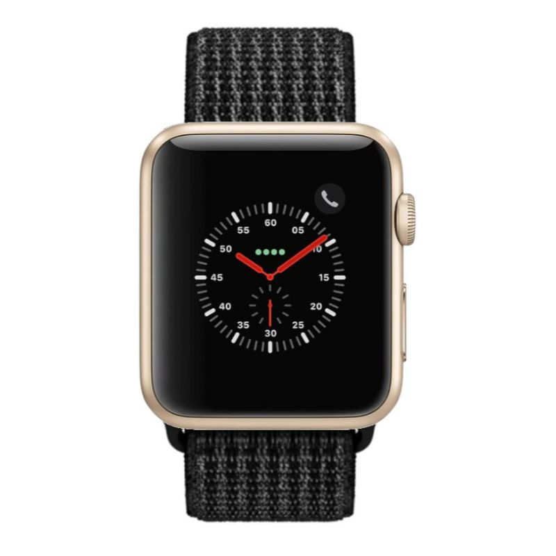 Apple Watch Series 2 38mm, WiFi-Gold with Black Sport Loop-Daily Steals