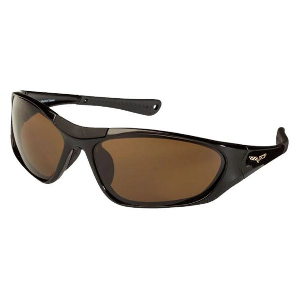 Corvette C6 Polarized Sunglasses El Series 5 Sports Styles by Solar Bat-CV-BD1 Brown Polarized-Daily Steals