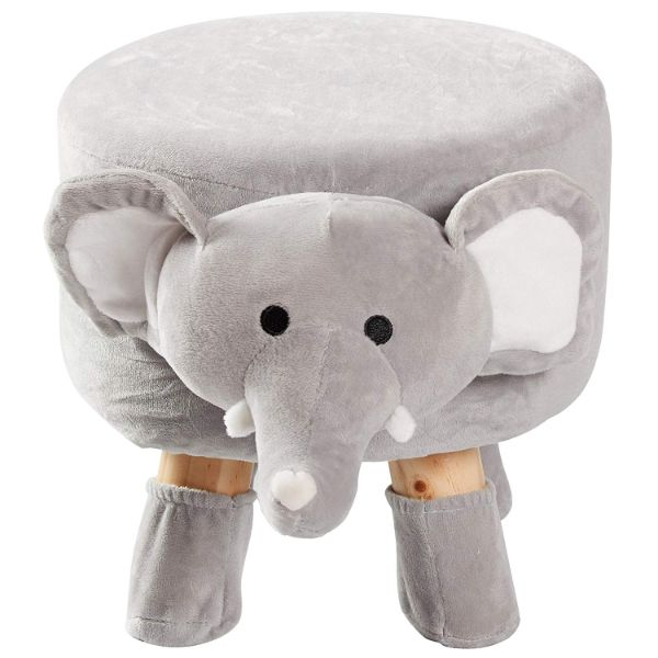 Cheer Collection Kids Mini Padded Animal Footrest-Daily Steals