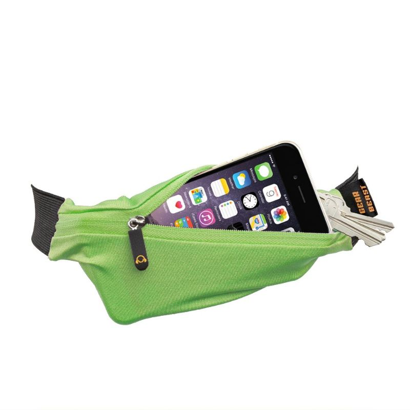 Gear Beast Sports Waist Pack Running Belts - 2 Pack-Green-Daily Steals