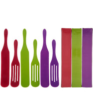Mad Hungry 6-Piece Silicone Spurtles with Gift Boxes-Harvest-Daily Steals