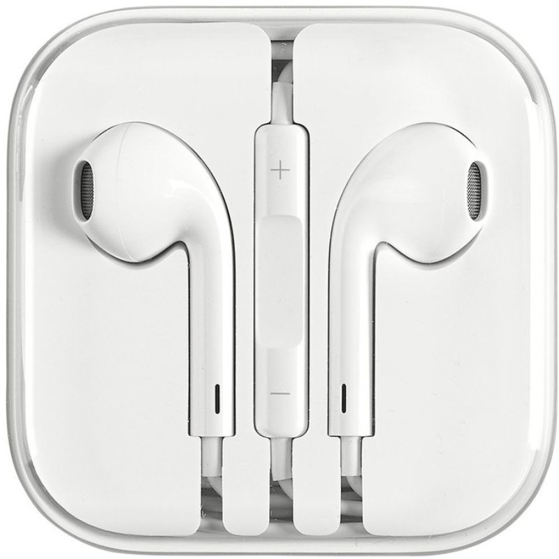 [2-Pack] Apple Original Earpods Earphones (3.5mm Jack) + Apple Original Lightning Cable-Daily Steals