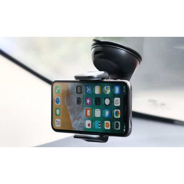 LAX Phone Holder Car Mount with Suction Cup for Dashboard and Windshield - 2 Pack-Daily Steals