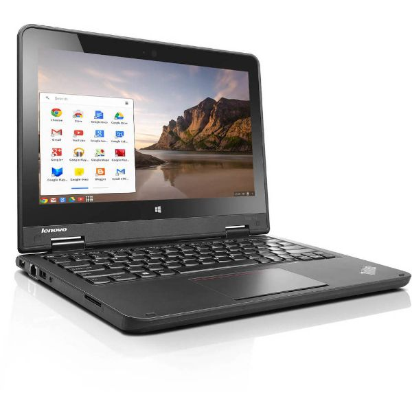 "Lenovo ThinkPad 11.6"" Chromebook Laptop Intel Celeron Quad Core 1.83GHz 16GB 4GB-Daily Steals"