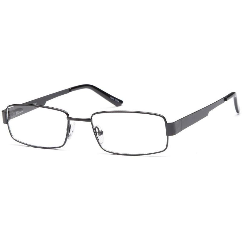 Men's Eyeglasses 54 18 145 Black Metal