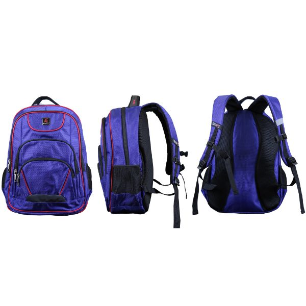 Pro Series Padded Laptop Backpacks-Navy/Red (Active)-Daily Steals
