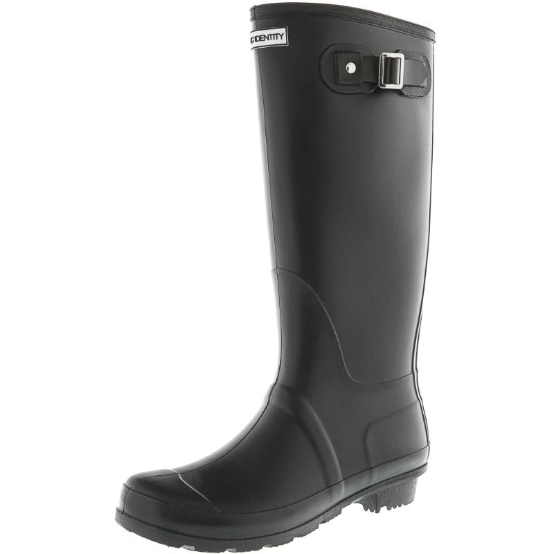 Exotic Identity Original Tall or Short Rain Boots-Matte Black - Tall-6M-Daily Steals