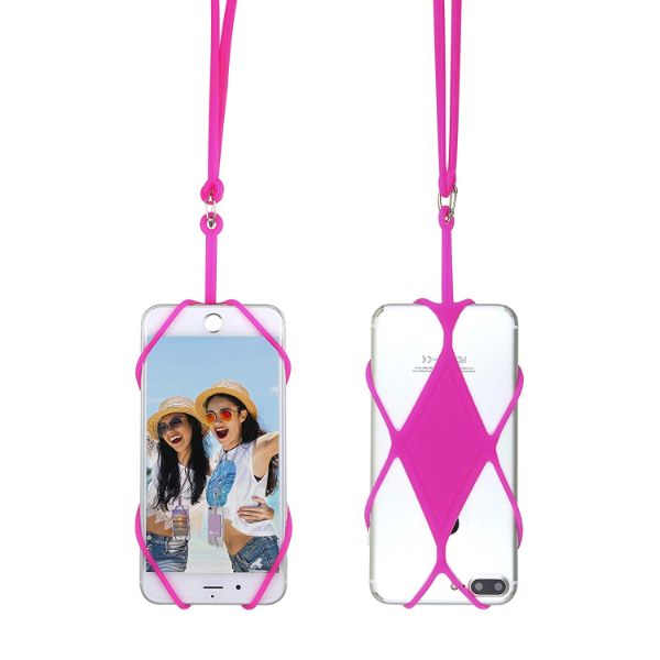 Gear Beast Universal Smartphone Lanyard - 2 Pack-Pink-Daily Steals