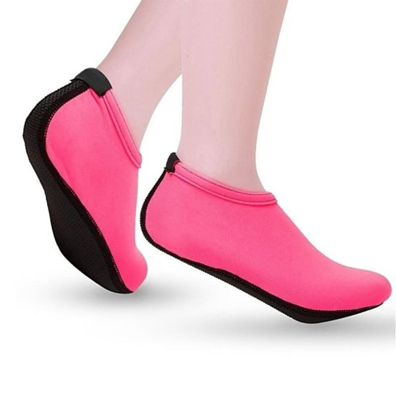 Barefoot Water Quick-Dry Aqua Socks-Pink-Medium-Daily Steals