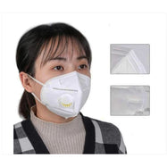 KN95 White Disposable Face Masks with Flow Exhalation Valve - 2, 6, 10, 20 Pack-Daily Steals