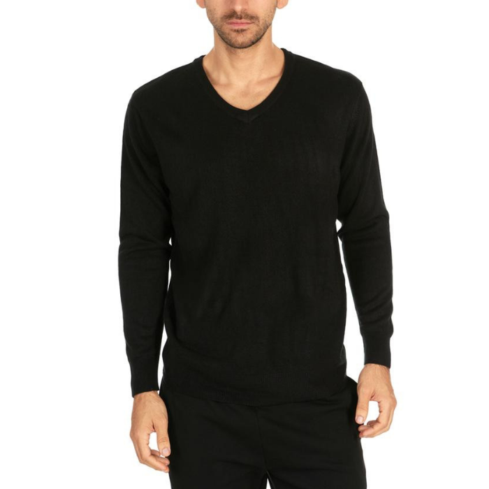 Daily Steals-Men's Mystery V-Neck Pullover Sweaters - 2 Pack-Men's Apparel-Large-