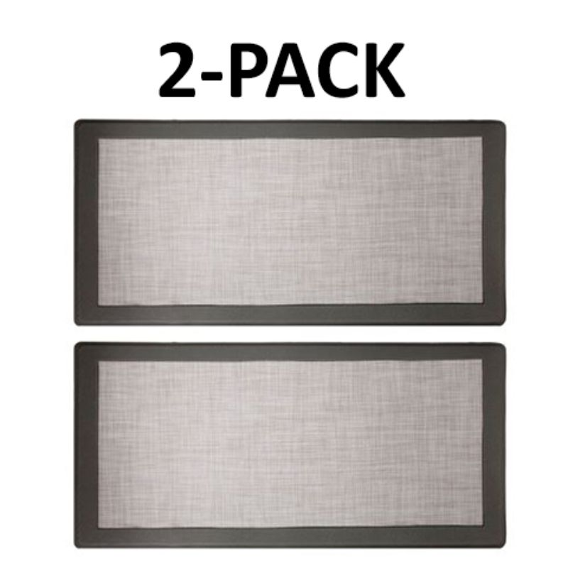 David Burke Hillside Anti-Fatigue Kitchen Mat - 2 Pack-Grey-Daily Steals