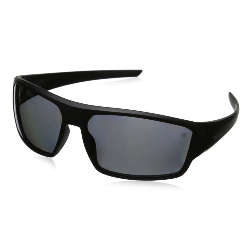 TAG Heuer 9222104 Racer 2 Matte Black Wrap Around Grey Lens Sunglasses-Daily Steals