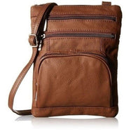 Plus Size Crossbody Bag with RFID Blocking Option-RFID Dark Brown-Daily Steals