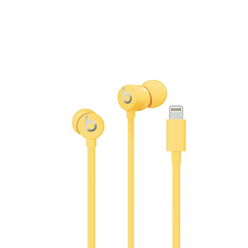 Beats urBeats3 Earphones with Lightning Connector-Yellow-Daily Steals