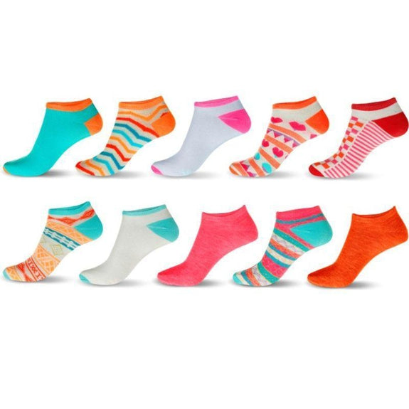 30-Pair Mystery Deal: Women's No-Show Ankle Socks-Daily Steals