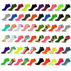 30-Pair Mystery Deal Women's No-Show Ankle Socks