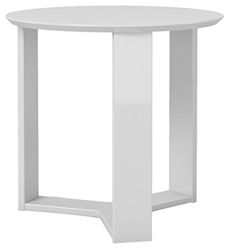 "update alt-text with template Daily Steals-Madison 2.0- 23.85"" Round Accent End Table-Furniture-Lime Gloss-"