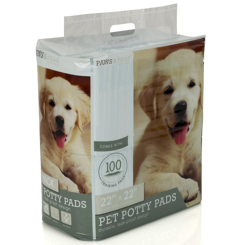 Daily Steals-Paws & Pals' Pet Dog Training Pads-Pets-100 Pack-