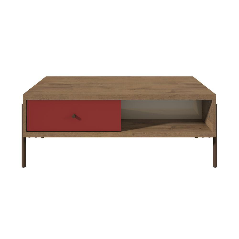 Joy Double-sided End Table-Red-Daily Steals