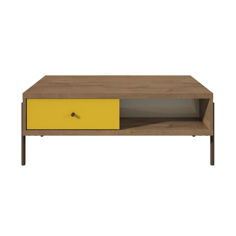 Joy Double-sided End Table-Yellow-Daily Steals