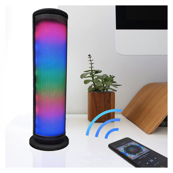 ZTech Wireless Bluetooth LED Tower Speaker with Built-In Mic-Daily Steals