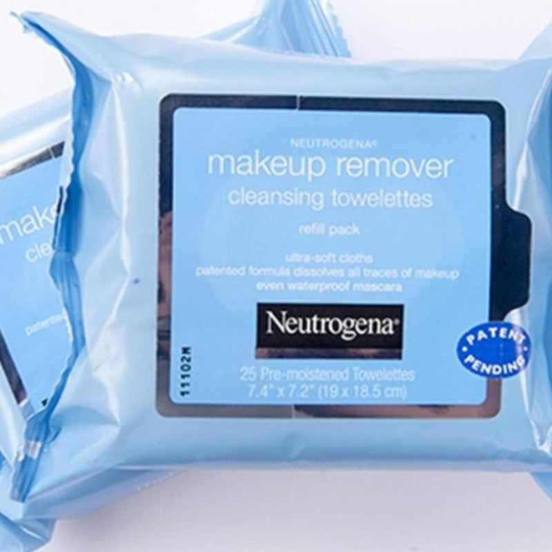 Neutrogena Deep Clean Makeup Remover Facial Wipes - 12 Pack-Daily Steals
