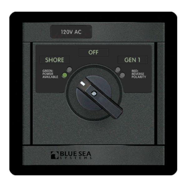 Daily Steals-360 AC Src Sel, 30A 120v-Sh / 120V-Gen By Blue Sea Systems-Marine-