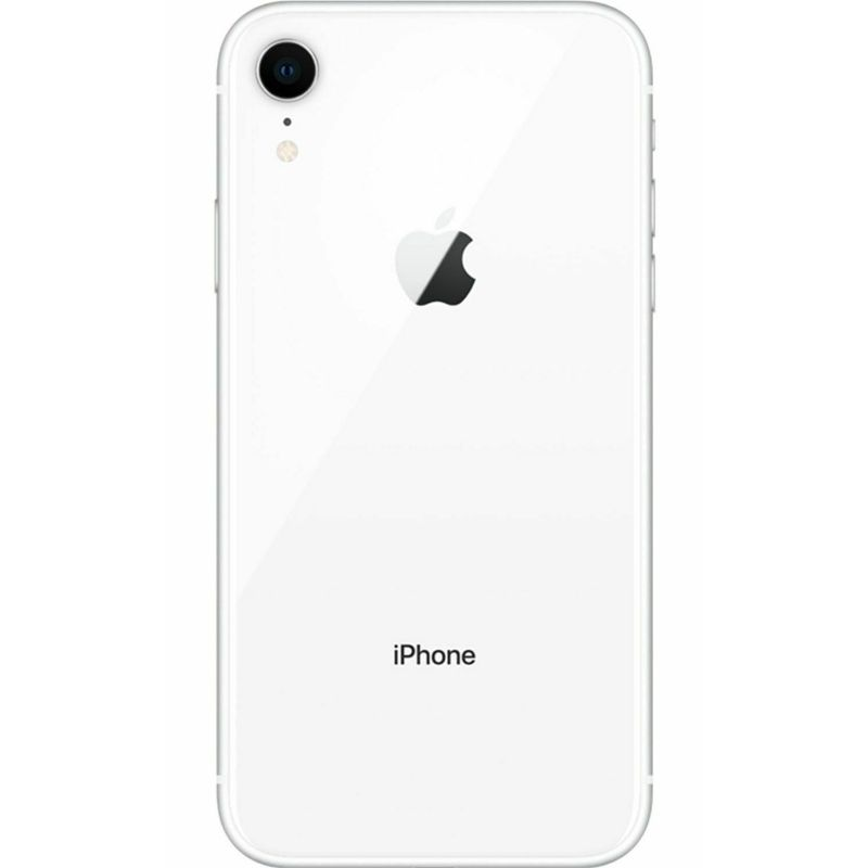 "Apple iPhone XR Factory Unlocked 64GB with 6.1"" Liquid Retina Display-White-Daily Steals"