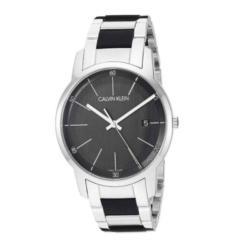City Extension Quartz Two Tone Men's Watch-Black Dial-Daily Steals