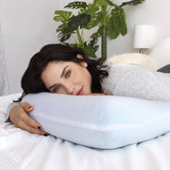 PharMeDoc Cooling Blue Ventilated Hole-Punch Memory Foam Pillow - 2 Pack-Daily Steals