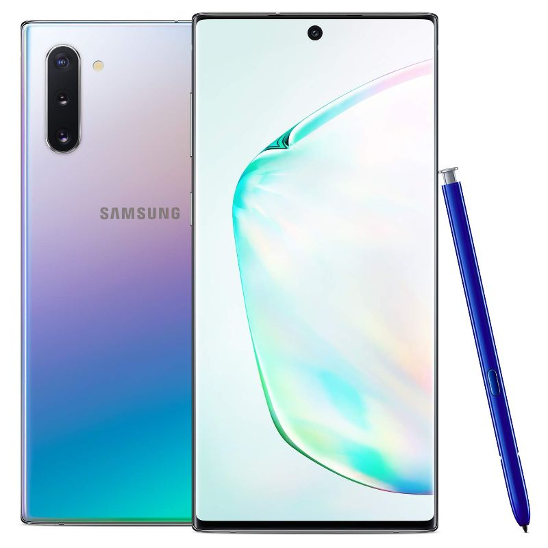Samsung Galaxy Note 10 Factory Unlocked Cell Phone with 256GB-Aura Glow-Daily Steals