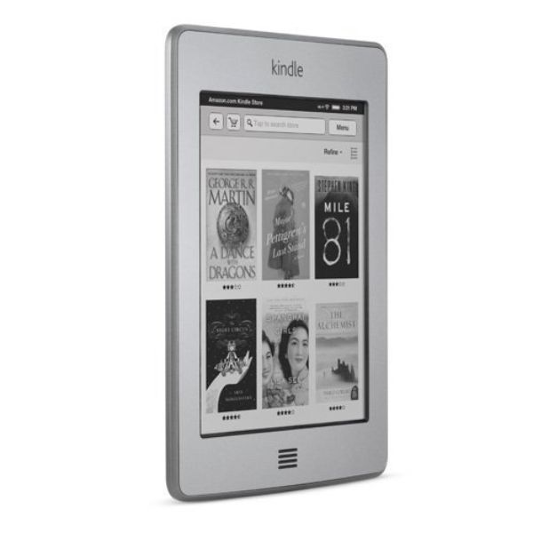 "Kindle Touch Wi-Fi E-Reader, 6"" E-Ink Touchscreen, 4GB, 802.11n Wi-Fi - Graphite-Daily Steals"