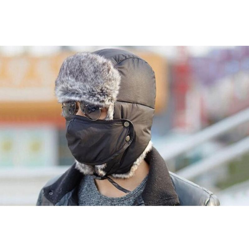 Unisex Full-Face Winter Trooper Ski Hat-Daily Steals