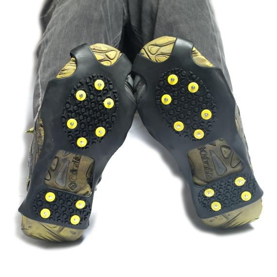 Outdoor Nation Ice and Snow Traction Cleats with Steel Studs-M-Daily Steals