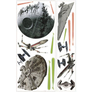 RoomMates Star Wars Classic Peel and Stick Giant Wall Decal-Space Ships-Daily Steals