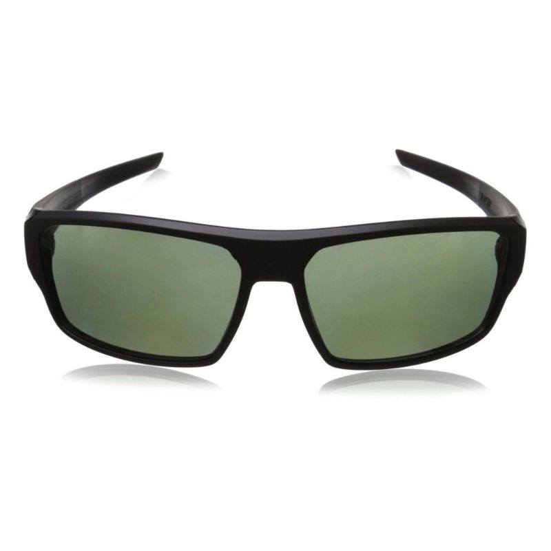 TAG Heuer 9222304 Racer 2 Black Polarized Green Wrap Around Sunglasses-Daily Steals