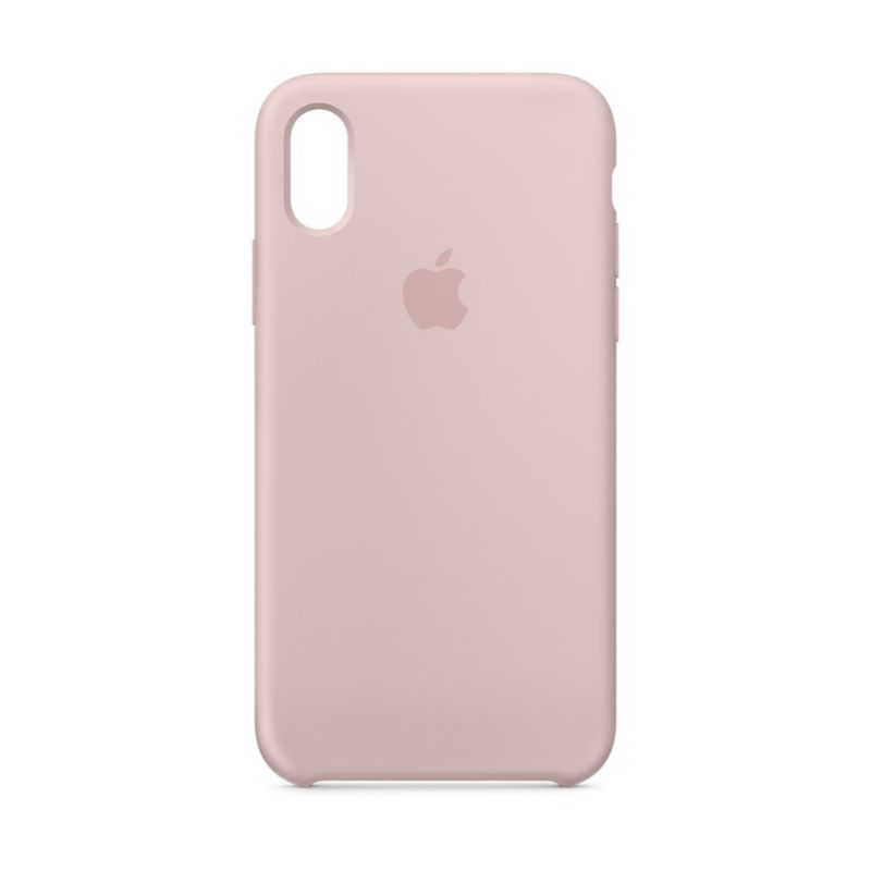 Apple Silicone Case for iPhone X/Xs-Pink Sand-Daily Steals
