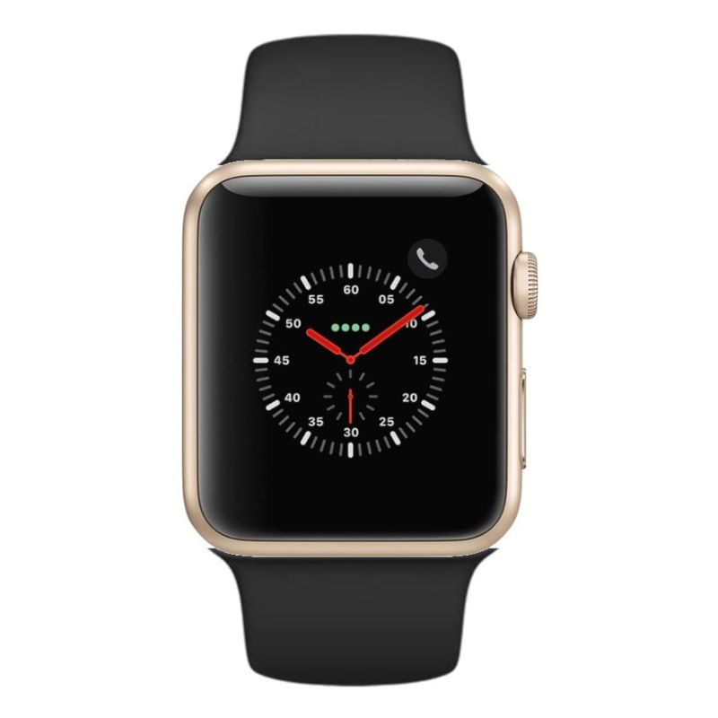 Apple Watch Series 2 38mm, WiFi-Gold with Black Sport Band-Daily Steals