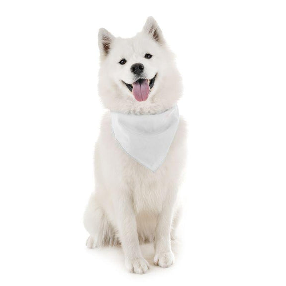Dog Scarf Bandanas Triangle Bibs - 6 Pack-White-Daily Steals