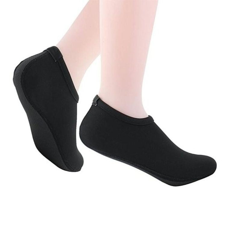 Barefoot Water Quick-Dry Aqua Socks-Black-Medium-Daily Steals