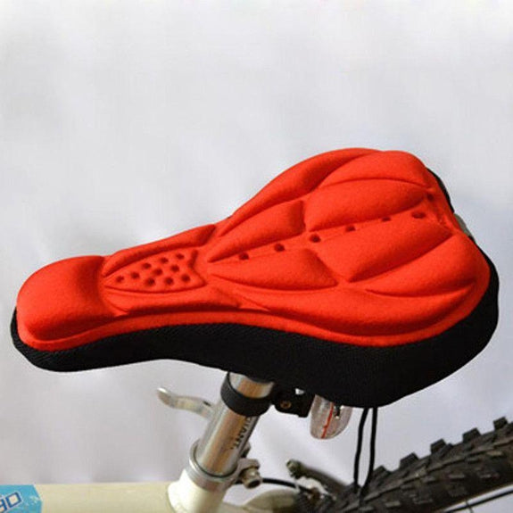 3D Gel Padded Bike Seat-Black-