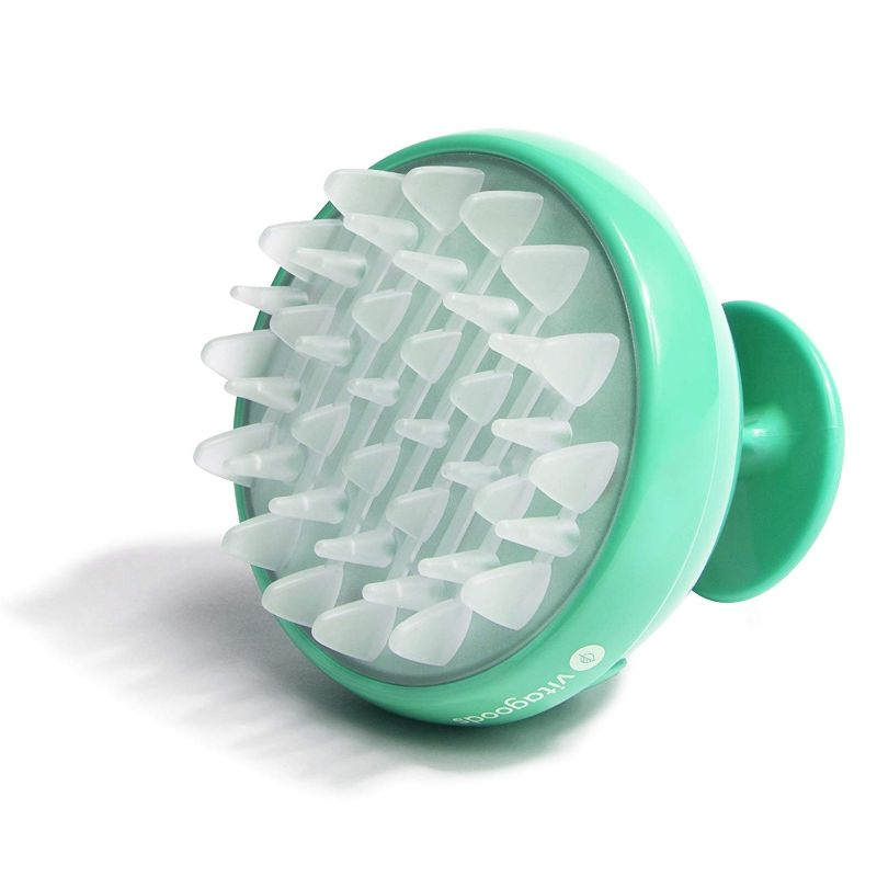 Vitagoods Vibrating Scalp Massaging Shampoo Brushes - 2 Pack-Lucite Green-Daily Steals
